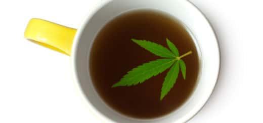 Tè alla cannabis